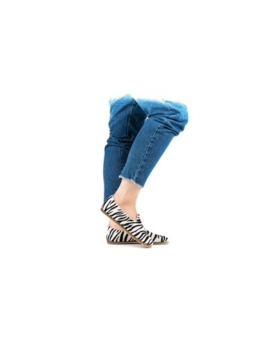 Aintap %100 Hakiki Deri Zebra Kadın Klasik Gaziantep Yemeni Zebra